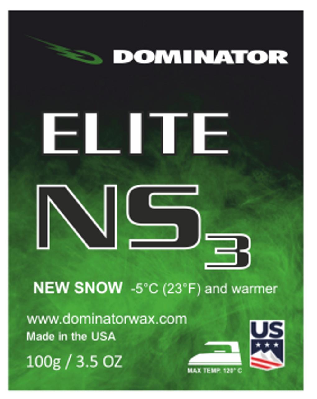 Dominator Elite Wax New Snow NS3