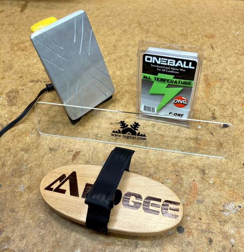 Tognar Snowboard Hot Wax Kit 120V (US, CAN) .