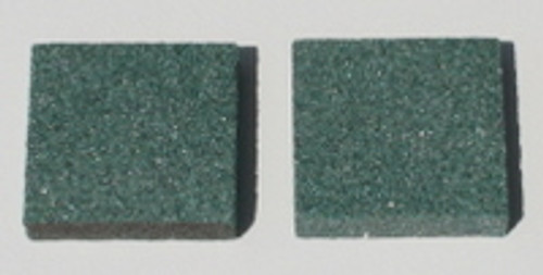 Green Stones for Ski Sharp Tool (pair)