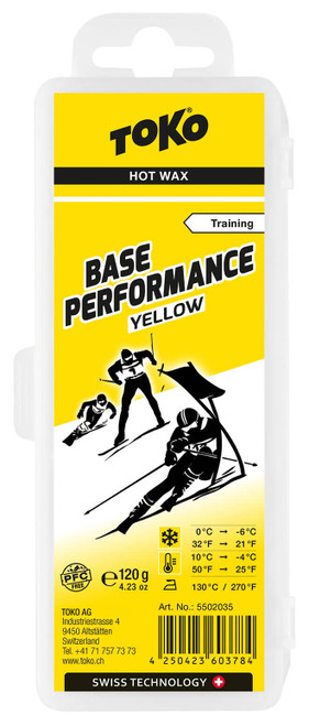 Toko Base Performance Wax Yellow (120g)