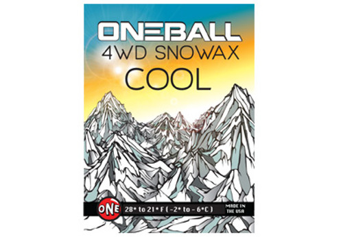 OneBall 4WD Wax (COOL): 165g