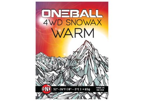 OneBall 4WD Wax (WARM): 165g