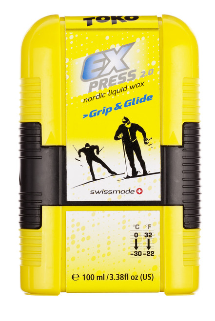 Toko Express 2.0 Grip & Glide Liquid Wax  FLAMMABLE MUST SHIP UPS GROUND