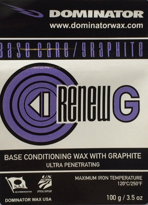 Dominator Graphite ReNew Base Prep Wax (100g)