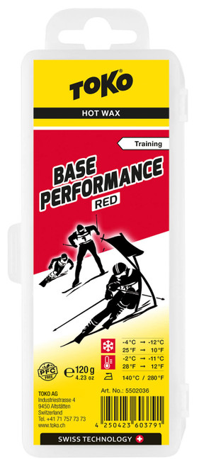 Toko Base Performance Hot Wax Red (120g)