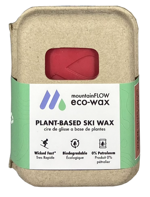 MountainFLOW Eco-Wax Plant Based Ski Wax WARM