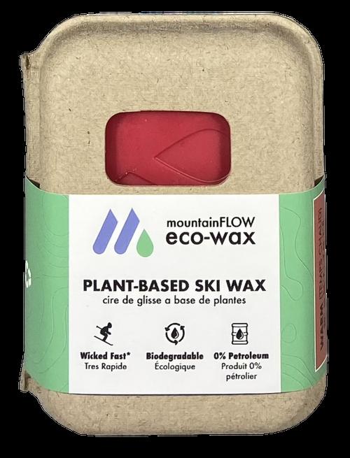MountainFLOW Eco-Wax Plant Based Ski Wax WARM