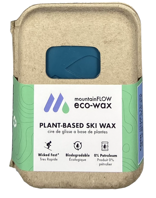 MountainFLOW Eco-Wax Plant Based Ski Wax COOL