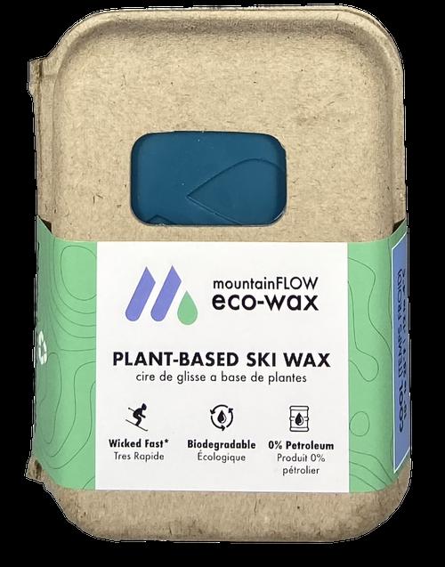 MountainFLOW Eco-Wax Plant Based Ski Wax COOL
