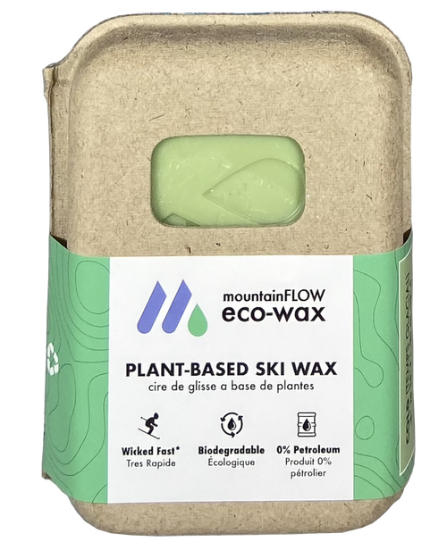 MountainFLOW Eco-Wax Plant Based Ski Wax COLD
