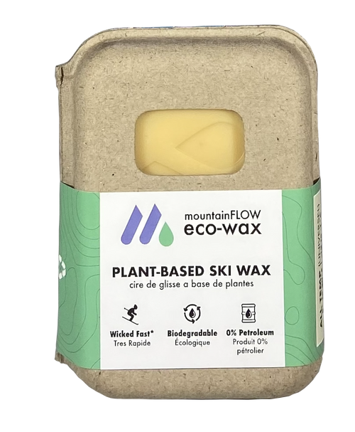 MountainFLOW Eco-Wax Plant Based Ski Wax UNIVERSAL