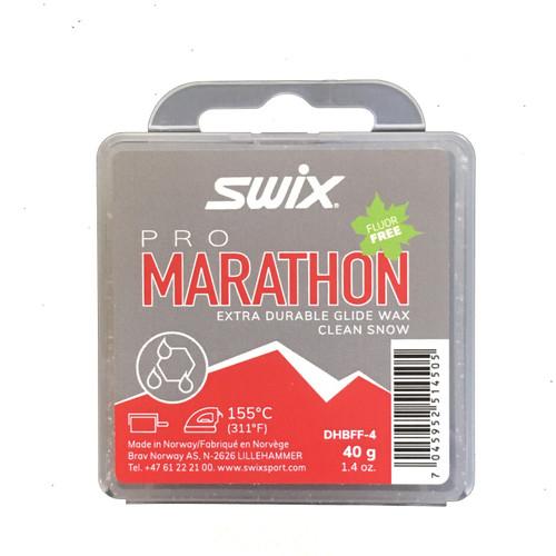 Swix Pro Marathon Glide Wax BLACK (40g)