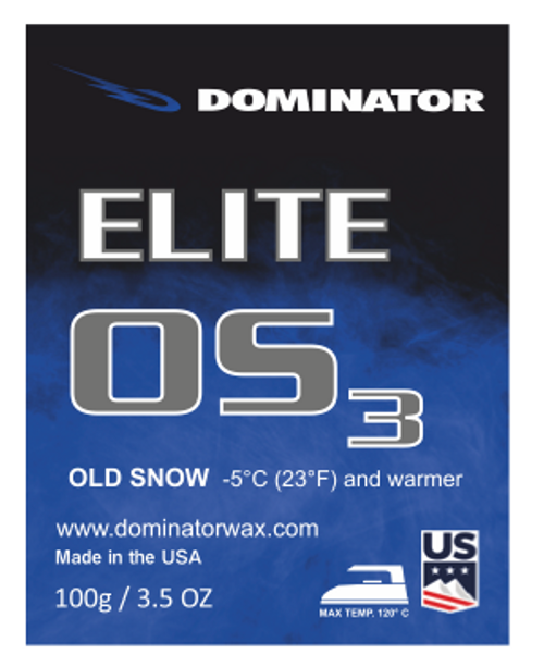 Dominator Elite Wax Old Snow OS3