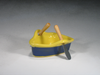 Blue & Yellow Boat Dip Pot