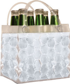 Chill It Bag 6 Pack Clear