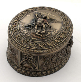 St. Michael Trinket Box