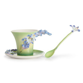 Lily of The Nile Cup/Saucer/Spoon