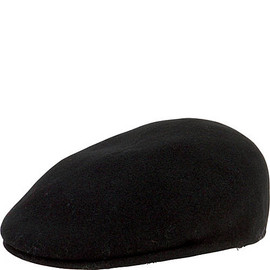 Boiled Wool Driver Hat with Inner Stretchband