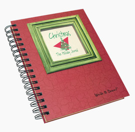 Christmas Write-It-Down Journal (Crimson)