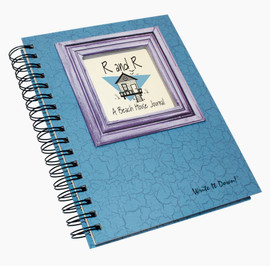 R & R Beach House Write-It-Down Journal (Light Blue)