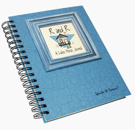 R & R Lake House Write-It-Down Journal (Light Blue)