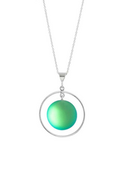 Circle with Loop Pendant
