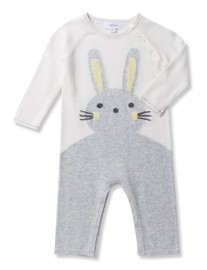 Bunny Coverall - Grey