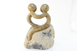 "Carved Springstone ""Lovers"" (Light tone)"