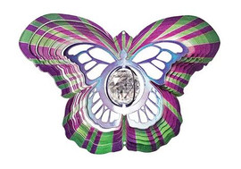 Crystal Butterfly Wind Spinner