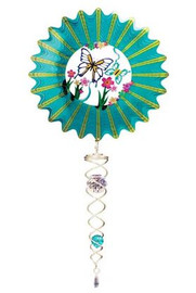 Mini 3D Teal Butterfly Set