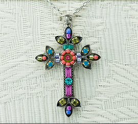 Mosaic Inlay Cross