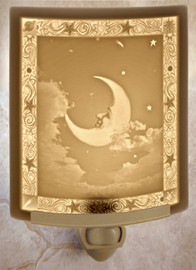 Man in the Moon Night Light