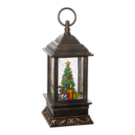Musical Christmas Tree Lighted Water Lantern
