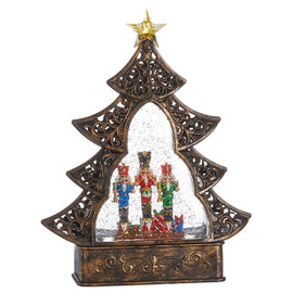 Nutcracker Musical Lighted Water Tree