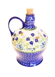 Polish Pottery Bottle