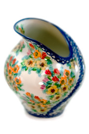 Polish Pottery Tulip Vase