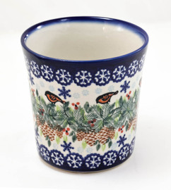 Polish Pottery Mugs - Jan