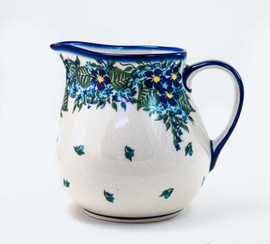 Polish Pottery Pitcher - Kubus