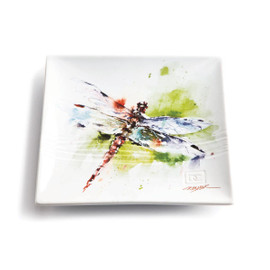 Garden Visitor Dragonfly Snack Plate
