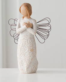 Remembrance Angel Willow Tree