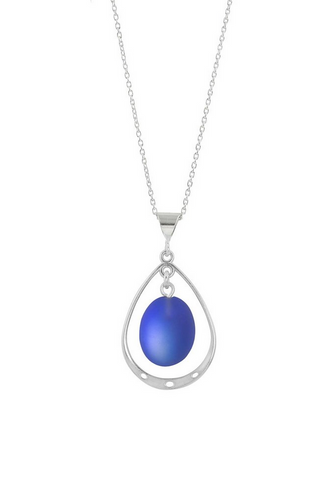 Oval with Loop Pendant