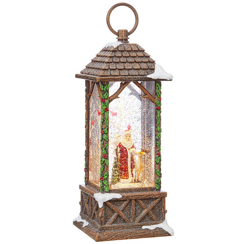 Santa Lighted Water Lantern
