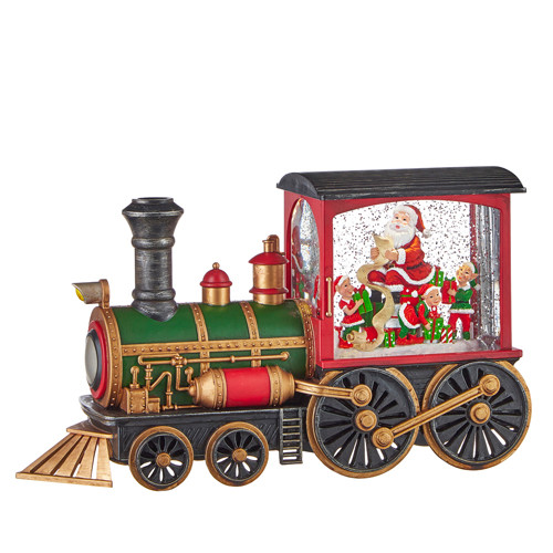 Santa's List Musical Train
