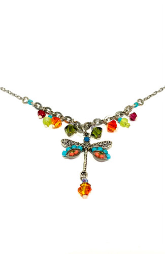 Dangling Dragonfly Necklace