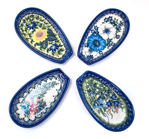 Polish Pottery Spoon Rests