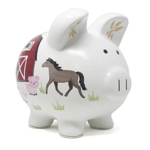 Barnyward Piggy Bank