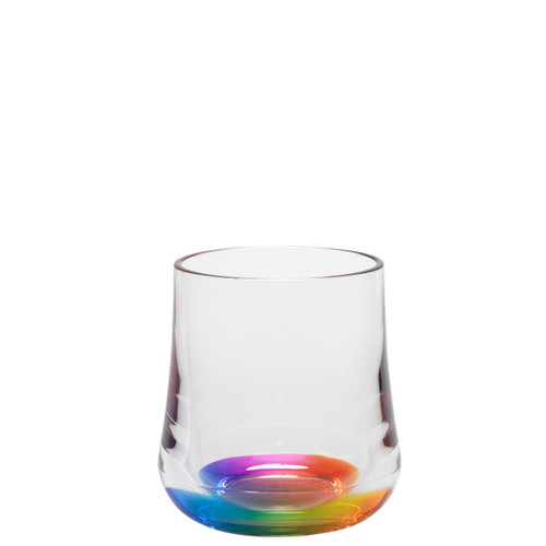 Acrylic 8 oz Rainbow Reflections Tumbler