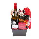 send white wine gift basket