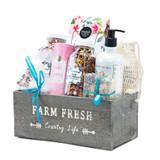 Farm Fresh Spa Gift Basket