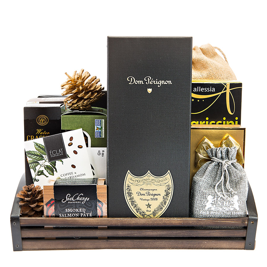 Dom Perignon Gift Basket Delivery